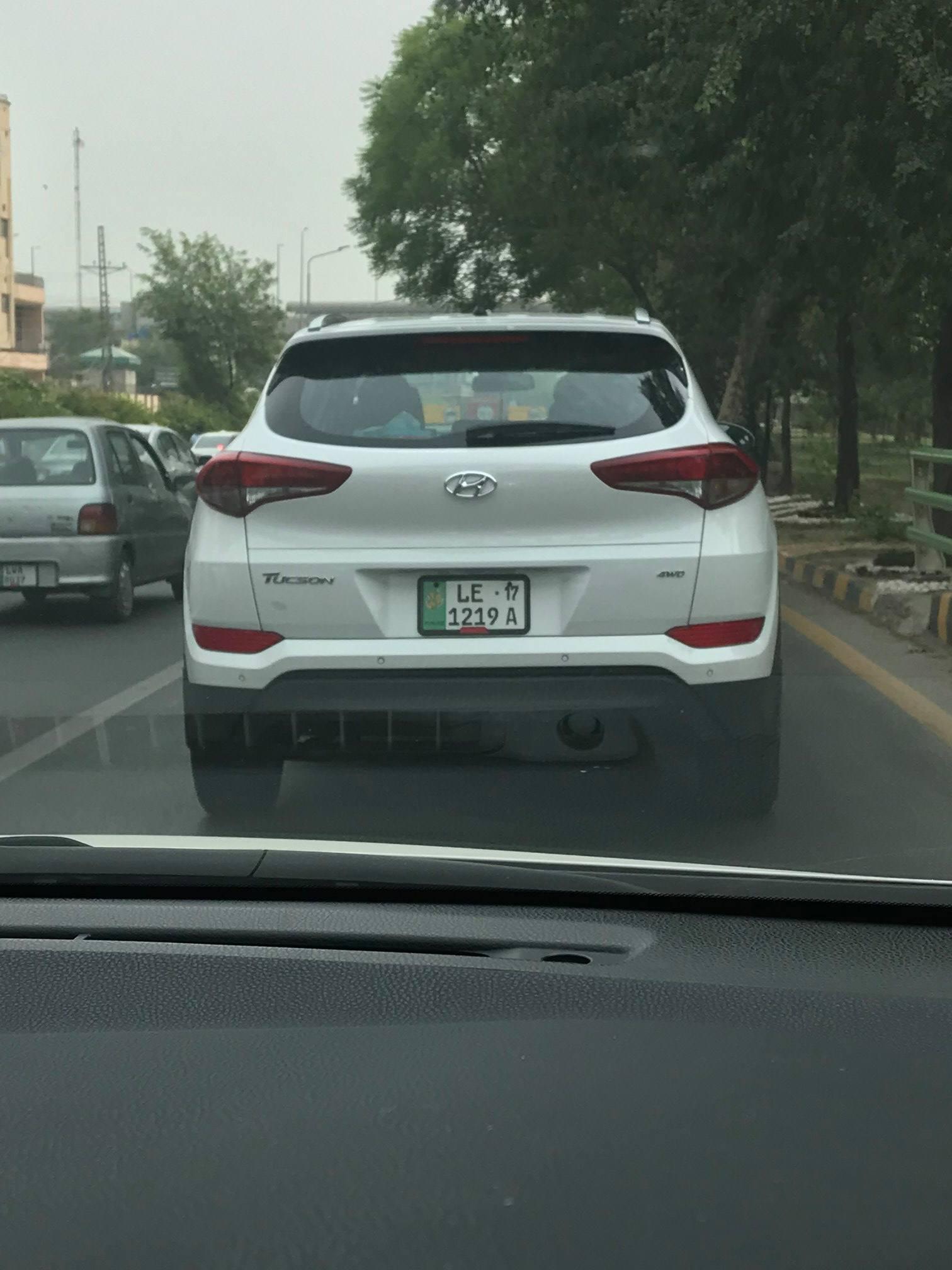 Hyundai Tucson Lahore Spotting (1)