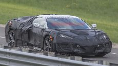 Mid-Engined Chevrolet Corvette Spied 2