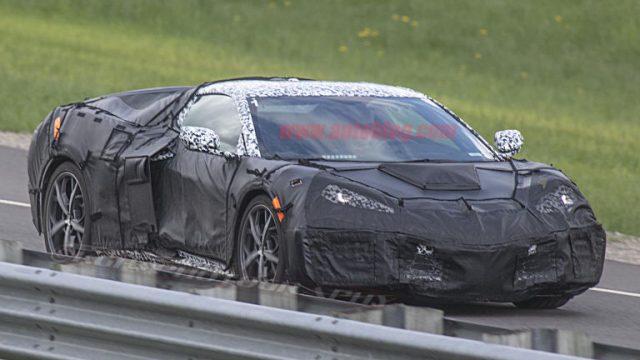 Mid-Engined Chevrolet Corvette Spied 2