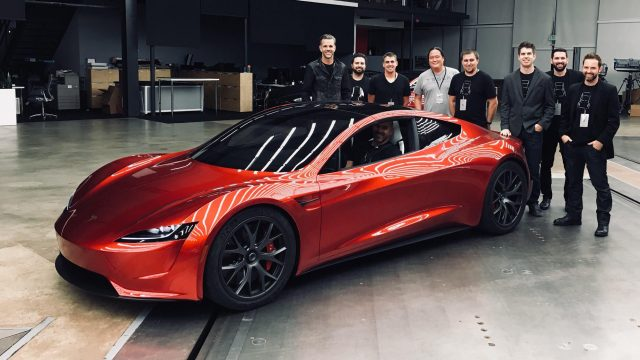 Tesla Roadster Interior Visible In A Recent Company Video
