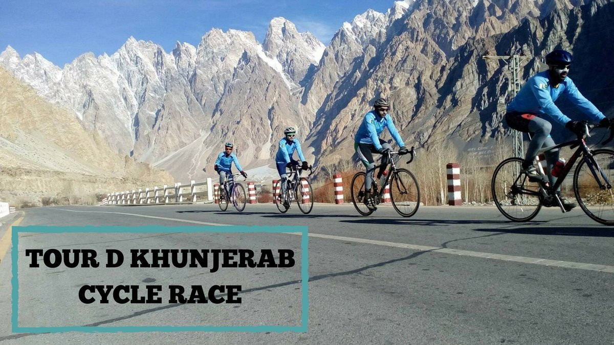 Tour De Khunjerab bicycle race