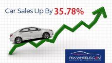 car sales april 2018