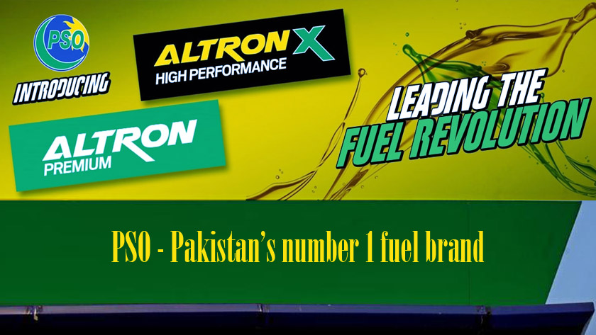 PSO number 1 fuel brand feat