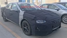 Spied 2020 Hyundai Sonata reveals a redesigned shape 1