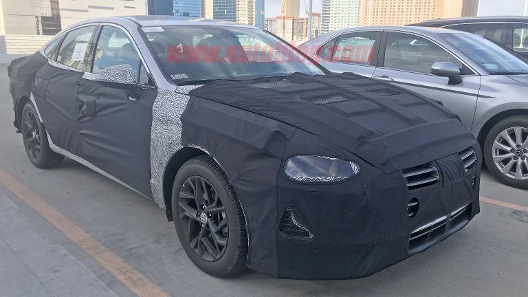 Spied 2020 Hyundai Sonata reveals a redesigned shape 1