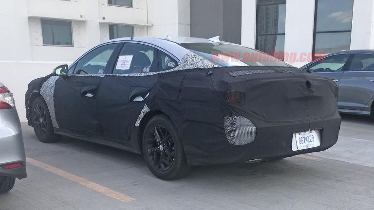 Spied 2020 Hyundai Sonata reveals a redesigned shape 2