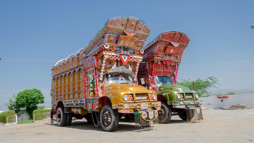 bedford truck pakwheels feat