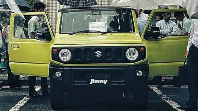 Suzuki Jimny 2019 photos leaked before its launch ...