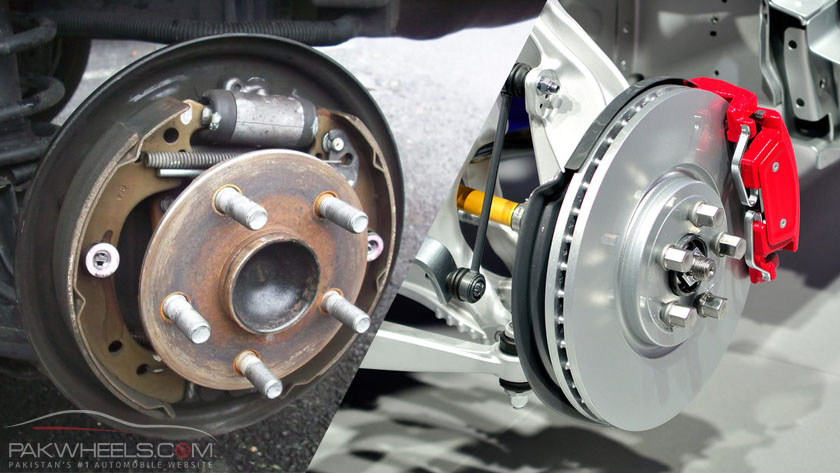 Disc brakes vs drum brakes