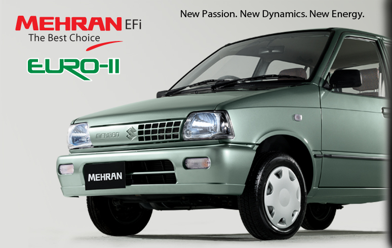 Suzuki Mehran Euro 2