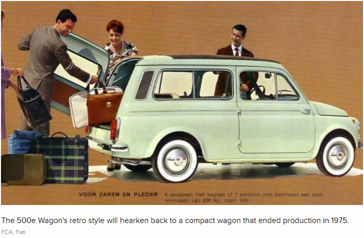 fiat500e wagon