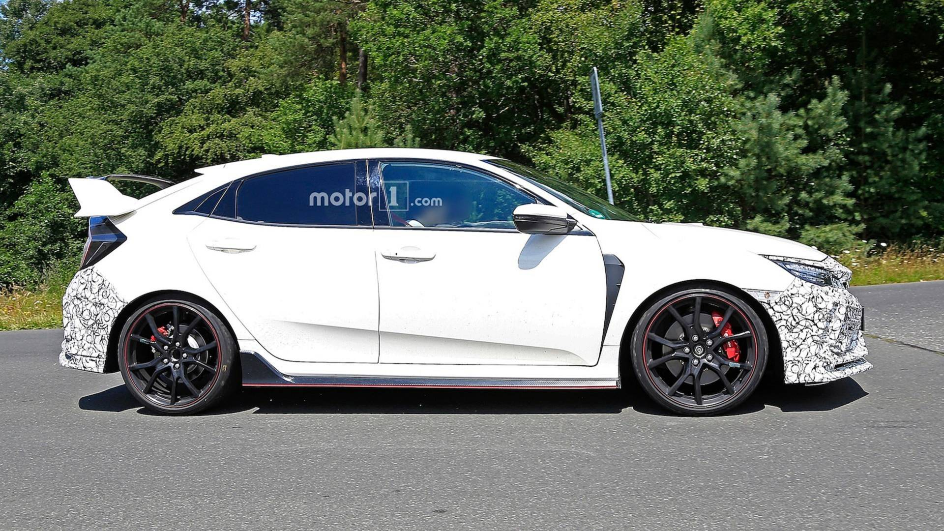 honda civic 2019 type r spy shots (6)