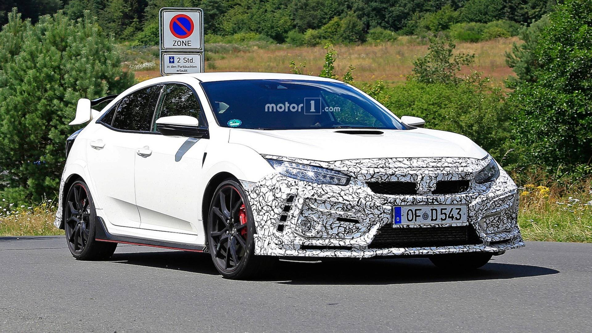 honda civic 2019 type r spy shots (7)