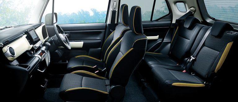 Interior cabin imqfe of Suzuki XBee 1.0