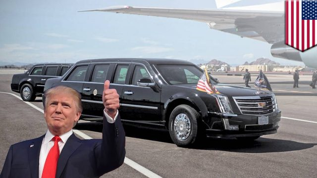 president trump state car the beast (1)