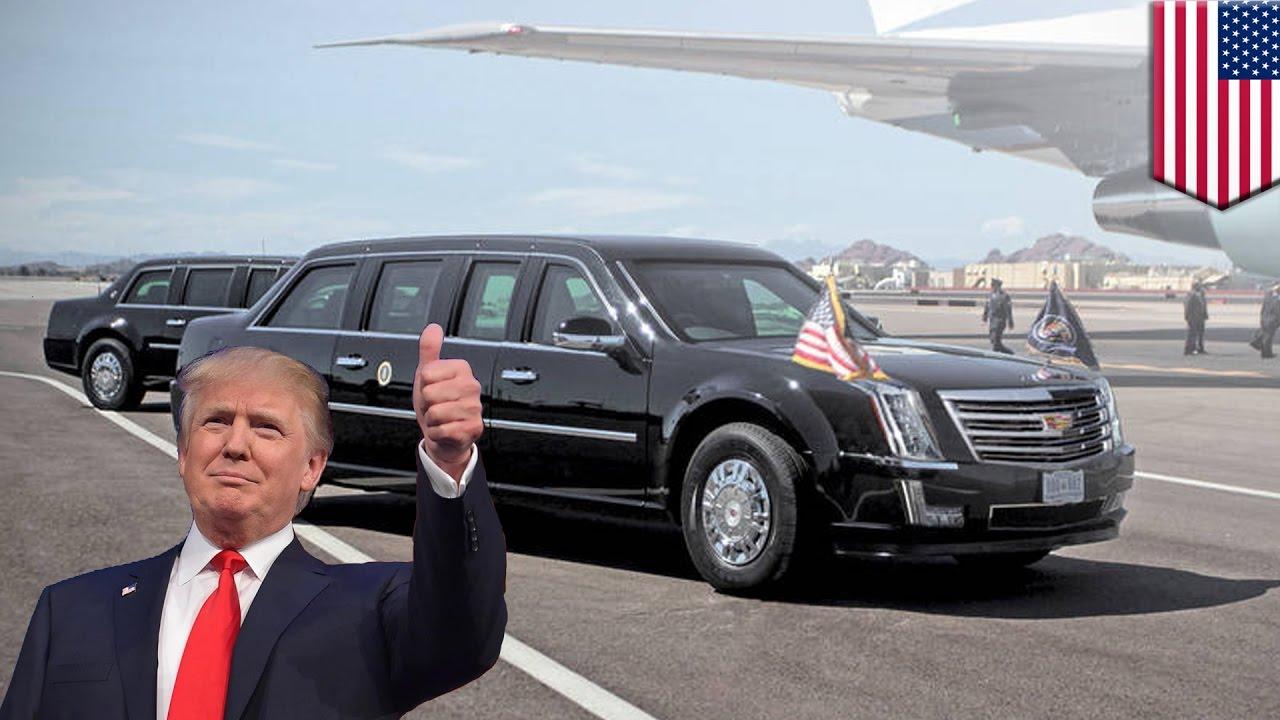 president trump state car the beast (1)