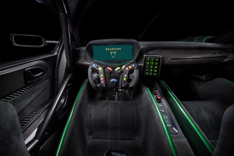 Brabham BT62 Driver View
