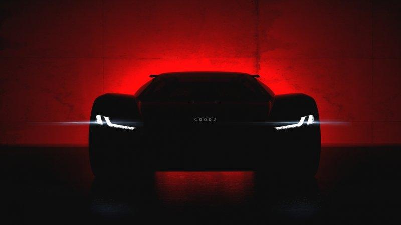 Audi PB 18 ETron electric supercar concept 1