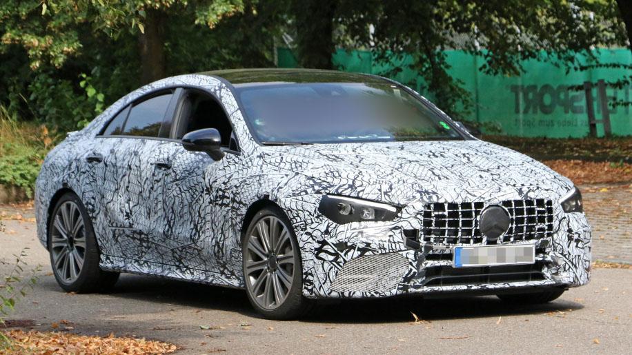 Mercedes AMG CLA 45 ft