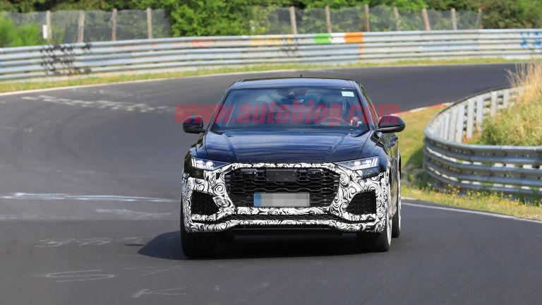 Spy shots Audi RS Q8 (1)