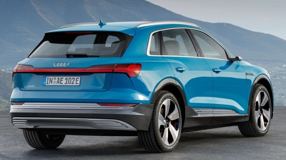 Audi unveils the ETron crossover electric vehicle 2