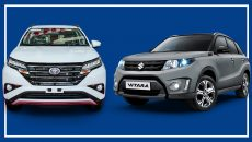 Rush vs Suzuki Vitara