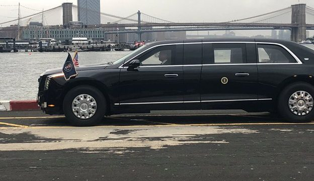 The New presidential limo 1