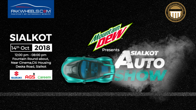 Sialkot To Witness Amazing Pakwheels Com Auto Show On 14th October