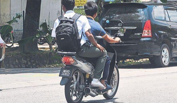 underage bikers
