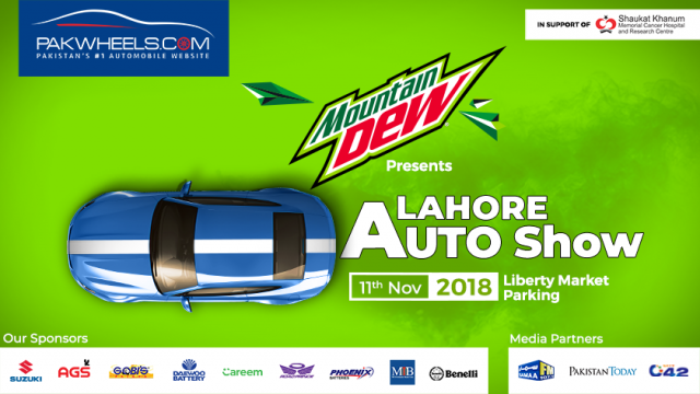 Gear Up For The Amazing Lahore Auto Show 2018 Pakwheels Blog
