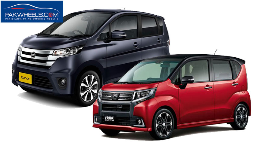 Nissan Dayz Highway Star Vs Daihatsu Move Custom Two Kei Cars Go Head To Head Pakwheels Blog