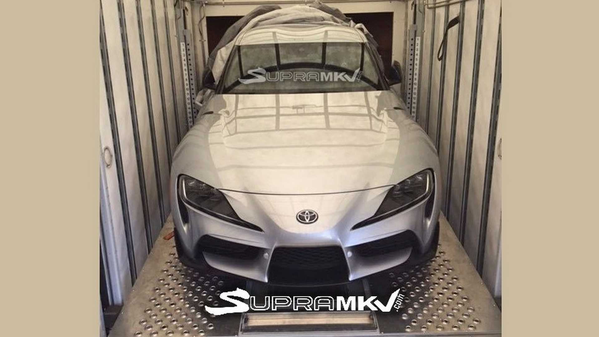 2020 Toyota Supra Spy Shots Leak Online Before Official