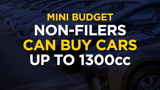 Additional Tax Non Filers Have To Pay To Purchase A Car Up To 1300cc