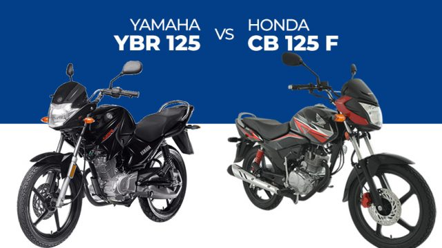 Ybr 125 Vs Honda Cb 125 F A Detailed Comparison Pakwheels Blog