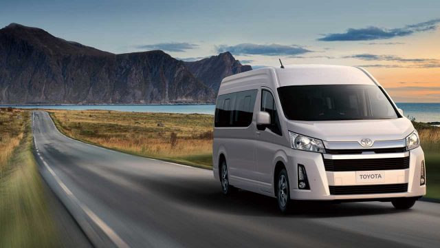 Image result for Toyota New HiAce Deluxe Launches in Pakistan