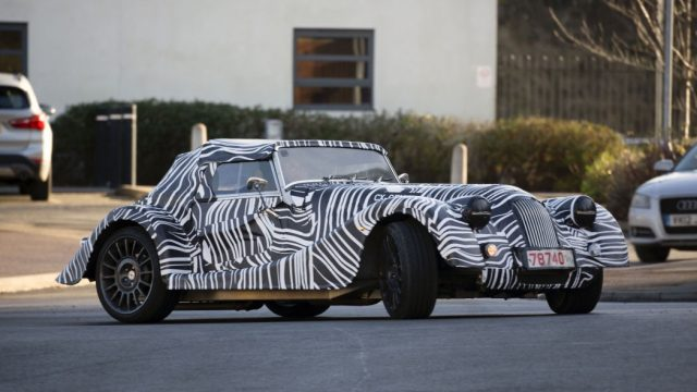 An All New Morgan Sports Car Prototype Spied Have A Look