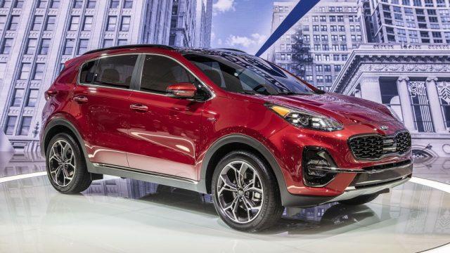New 2020 Kia Sportage S AWD Sport Utility