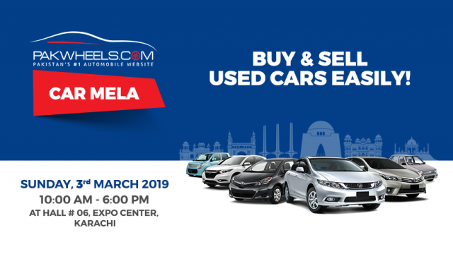What are your options at the upcoming PakWheels com Karachi Car Mela