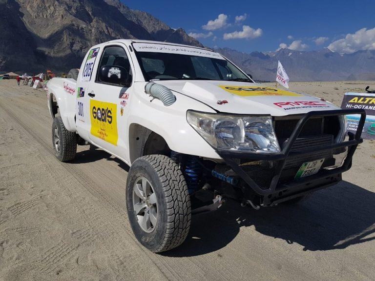 Nadir Magsi wins third Sarfaranga rally - see pictures and ...