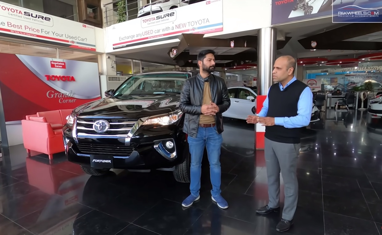 Toyota Fortuner G 2020 Price Specs Features First Look Review Pakwheels Blog