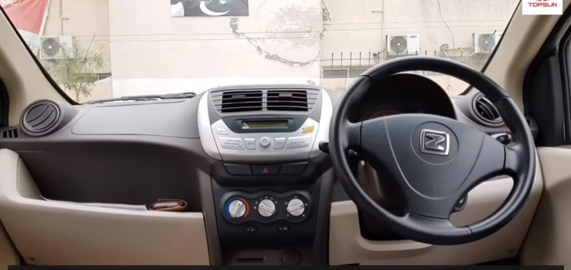 Zyote Z100 Pakistan's first electric car Interior