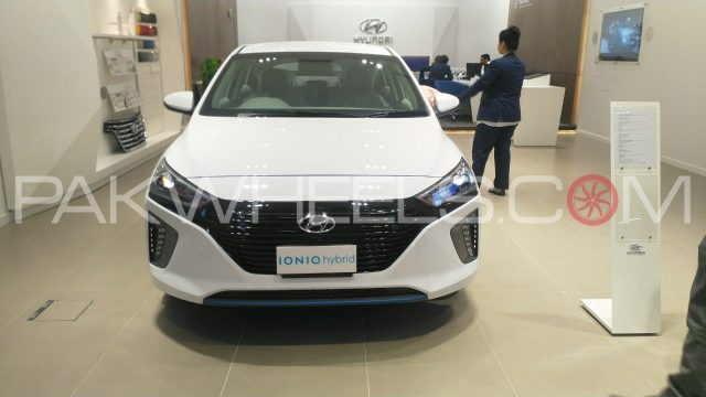HYUNDAI IONIQ Exterior picture (cars launched in Pakistan during 2019)