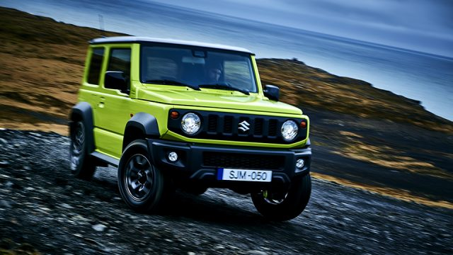 SUZUKI JIMNY exterior picture (cars launched in Pakistan during 2019)