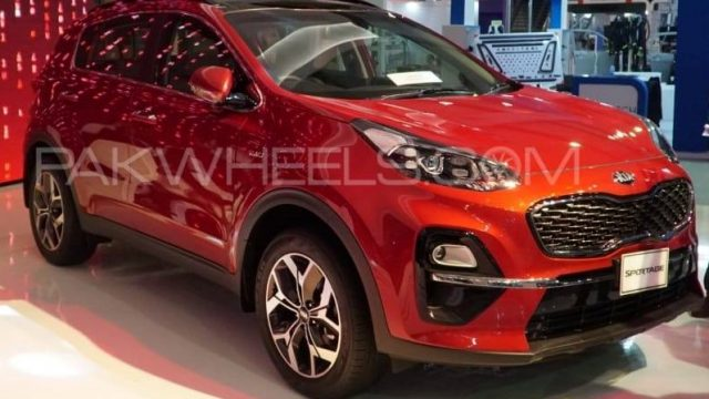 KIA SPORTAGE 2019 Exterior Picture (cars launched in Pakistan during 2019)