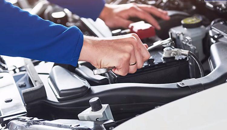 Car parts checking