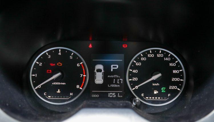 Proton Saga Meter