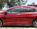 New Honda City Red Exterior