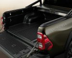 New Toyota Hilux Facelift version trunk