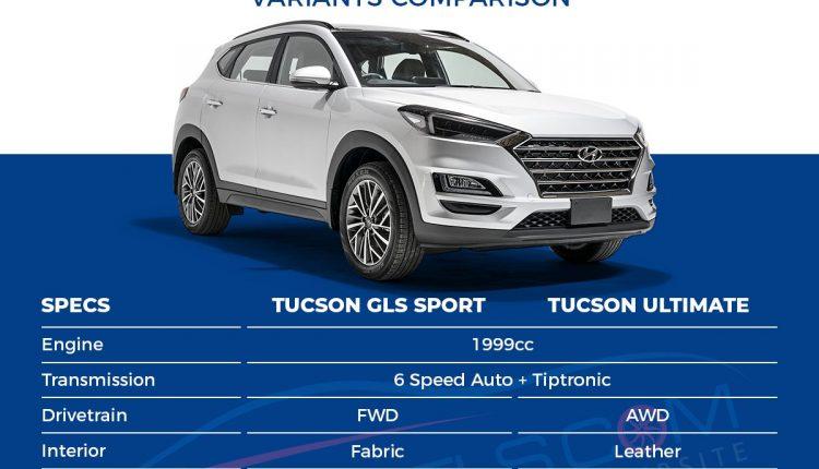 Hyundai Tucson GLS Sport vs Ultimate