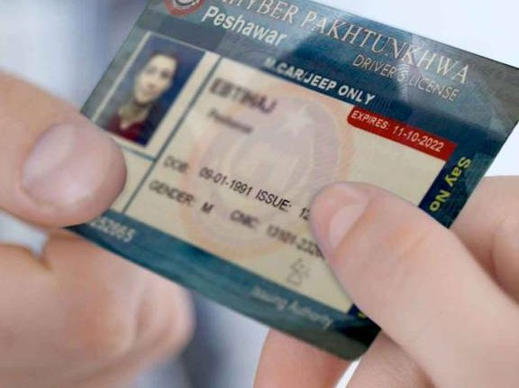 Driver License in KPK